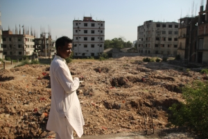 Rafiqul Islam spent the days after the collapse of Rana Plaza rescuing people from the rubble.